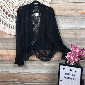 New Bell Sleeve Lace Jacket Ties! 3x